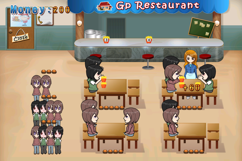 Screenshot Gp Restaurant Adventure Lite