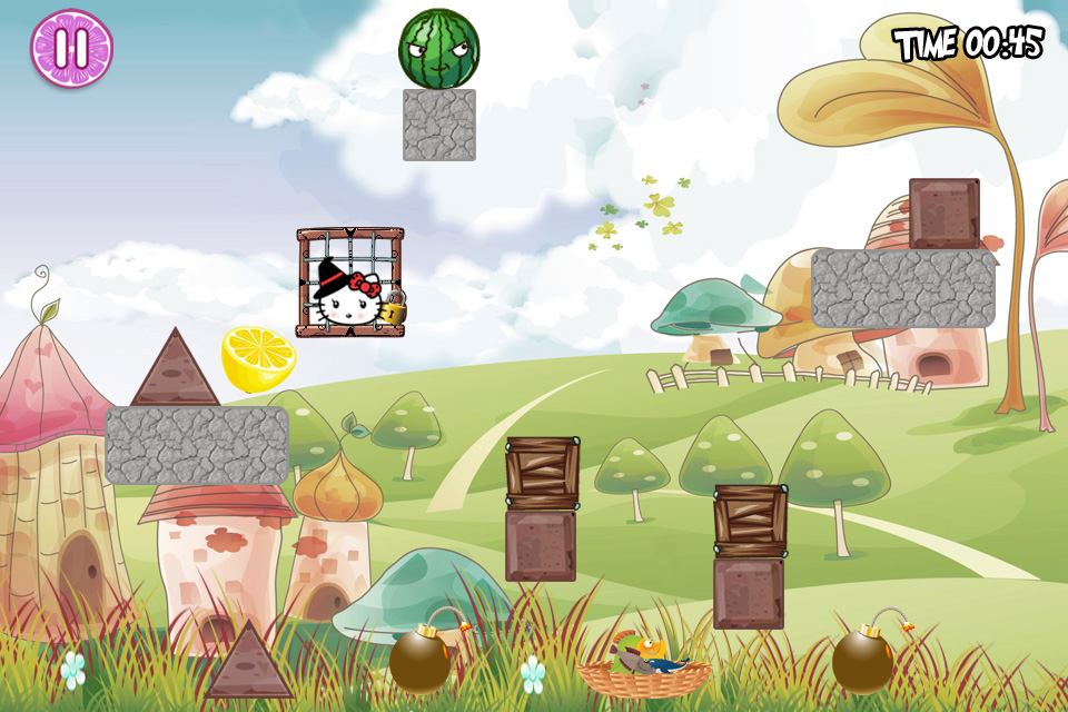 Screenshot Hello Kitty's Adventures Free